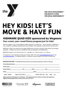 Highmark QUAD Kids Flyer
