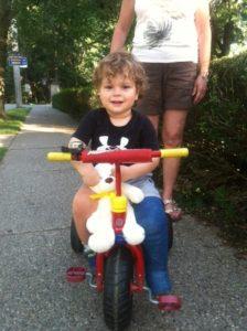 Roger Landis biking 2