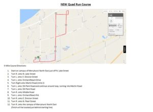 NEW Quad Run Course Map